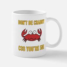 Funny 50th Birthday (Crabby) Mugs