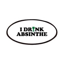 I Drink Absinthe Patches