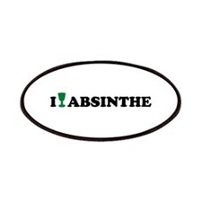 I love Absinthe Patches