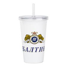 Baltika.png Acrylic Double-wall Tumbler