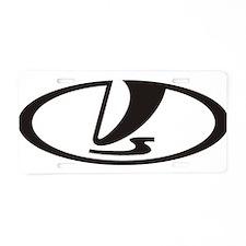 vaz.png Aluminum License Plate