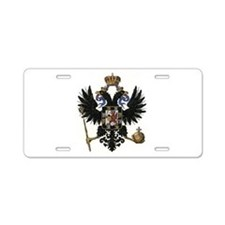 the-romanovs-w.png Aluminum License Plate