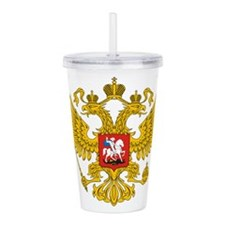 russia_011.png Acrylic Double-wall Tumbler