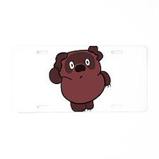 vinni_rasha_005.png Aluminum License Plate
