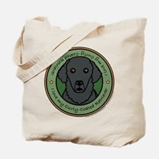 Love My Curly-Coat Tote Bag