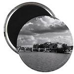 """Pont Neuf"" Round Magnet"