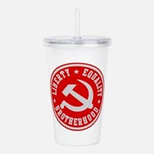 Cute Cccp Acrylic Double-wall Tumbler