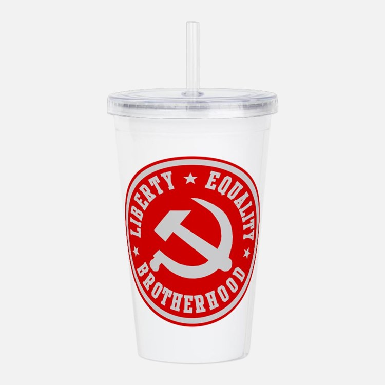 Cute Communist Acrylic Double-wall Tumbler