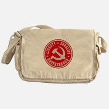 Cute Lenin Messenger Bag