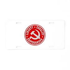 Funny Marx Aluminum License Plate