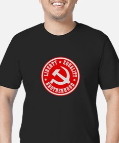 Unique Trotsky Men's Fitted T-Shirt (dark)