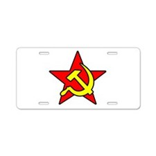 soviet-symbol-w.png Aluminum License Plate