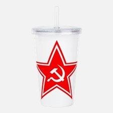 soviet-star-white-w.png Acrylic Double-wall Tumble