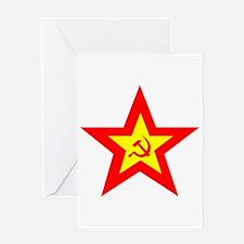 soviet-star-w.png Greeting Card