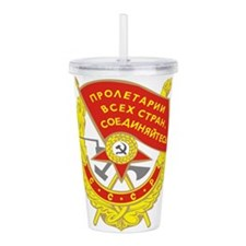 redflag.png Acrylic Double-wall Tumbler