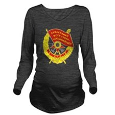redflag.png Long Sleeve Maternity T-Shirt