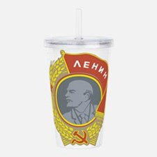 Lenin.png Acrylic Double-wall Tumbler