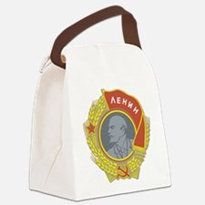 Lenin.png Canvas Lunch Bag