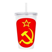 soviet-round-w.png Acrylic Double-wall Tumbler
