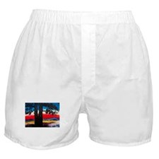 Cute Abstract forest Boxer Shorts