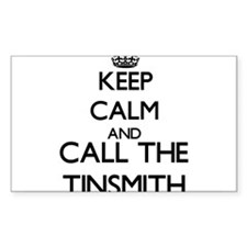 Keep calm and call the Tinsmith Decal