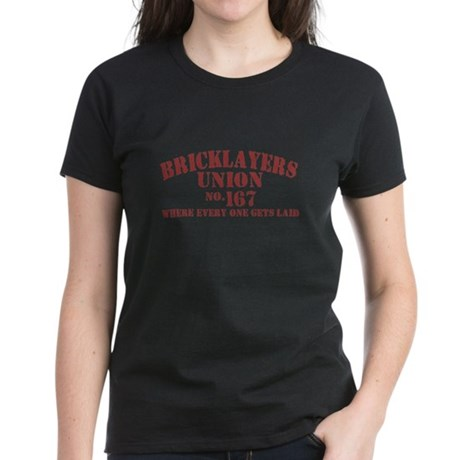 brick-v-w.png Women's Dark T-Shirt