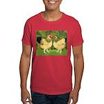Wyandotte Rooster and Hen Dark T-Shirt