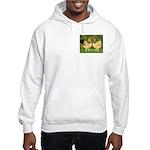 Wyandotte Rooster and Hen Hooded Sweatshirt