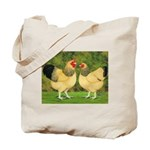 Wyandotte Rooster and Hen Tote Bag