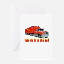 truck-n-w.png Greeting Card