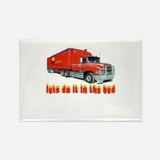truck-n-w.png Rectangle Magnet