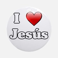 jesus-n-w.png Ornament (Round)