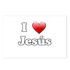 jesus-n-w.png Postcards (Package of 8)