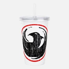 dragon-v-w.png Acrylic Double-wall Tumbler