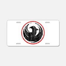 dragon-v-w.png Aluminum License Plate