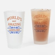 Landlord Drinking Glass