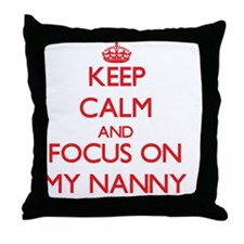 Cute Wet nurse Throw Pillow