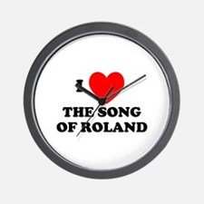Song of Roland Wall Clock