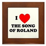 Song of Roland Framed Tile