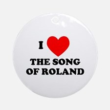 Song of Roland Ornament (Round)