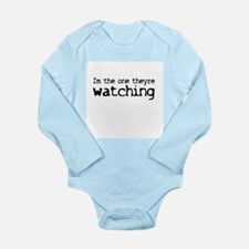 Funny Scully Long Sleeve Infant Bodysuit