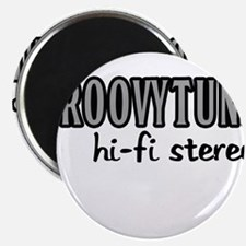 "GROOVYTUNE hi-fi stereo 2.25"" Magnet (10 pack)"