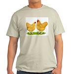 Buff Wyandotte Chickens Light T-Shirt