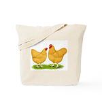 Buff Wyandotte Chickens Tote Bag