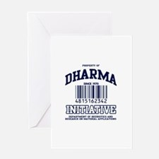 dharma-gear-w.png Greeting Card