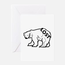 lost-polar.png Greeting Card