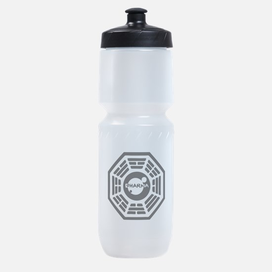 3-dharma-karma.png Sports Bottle