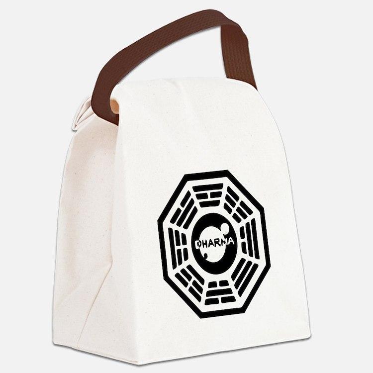 3-dharma-karma.png Canvas Lunch Bag