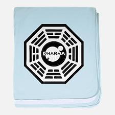 3-dharma-karma.png baby blanket