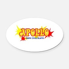 apollo-bar.png Oval Car Magnet